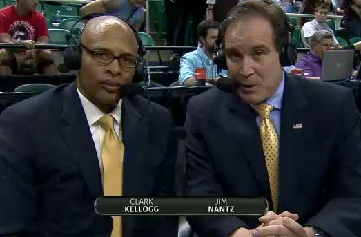 Clark Kellogg's vocabulary totally confounds Jim Nantz