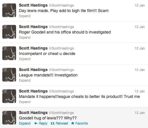 Nuggets Announcer Scott Hastings Blames Broncos Loss On