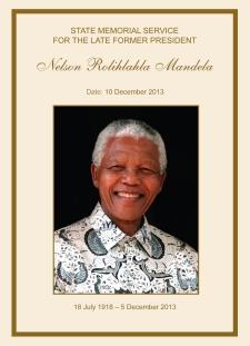 Nelson Mandela Memorial Service