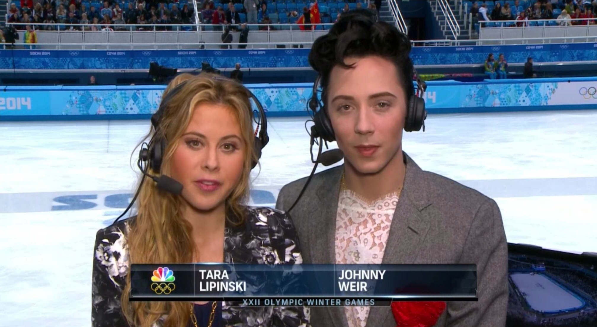 Tara Lipinski And Johnny Weir Are Nbc S New Top Figure
