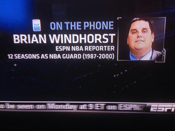 brian windhorst rumors have somehow become a part of the
