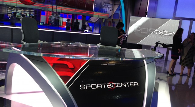 ESPN SportsCenter set 03