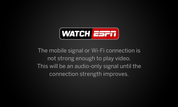 WatchESPN disclaimer