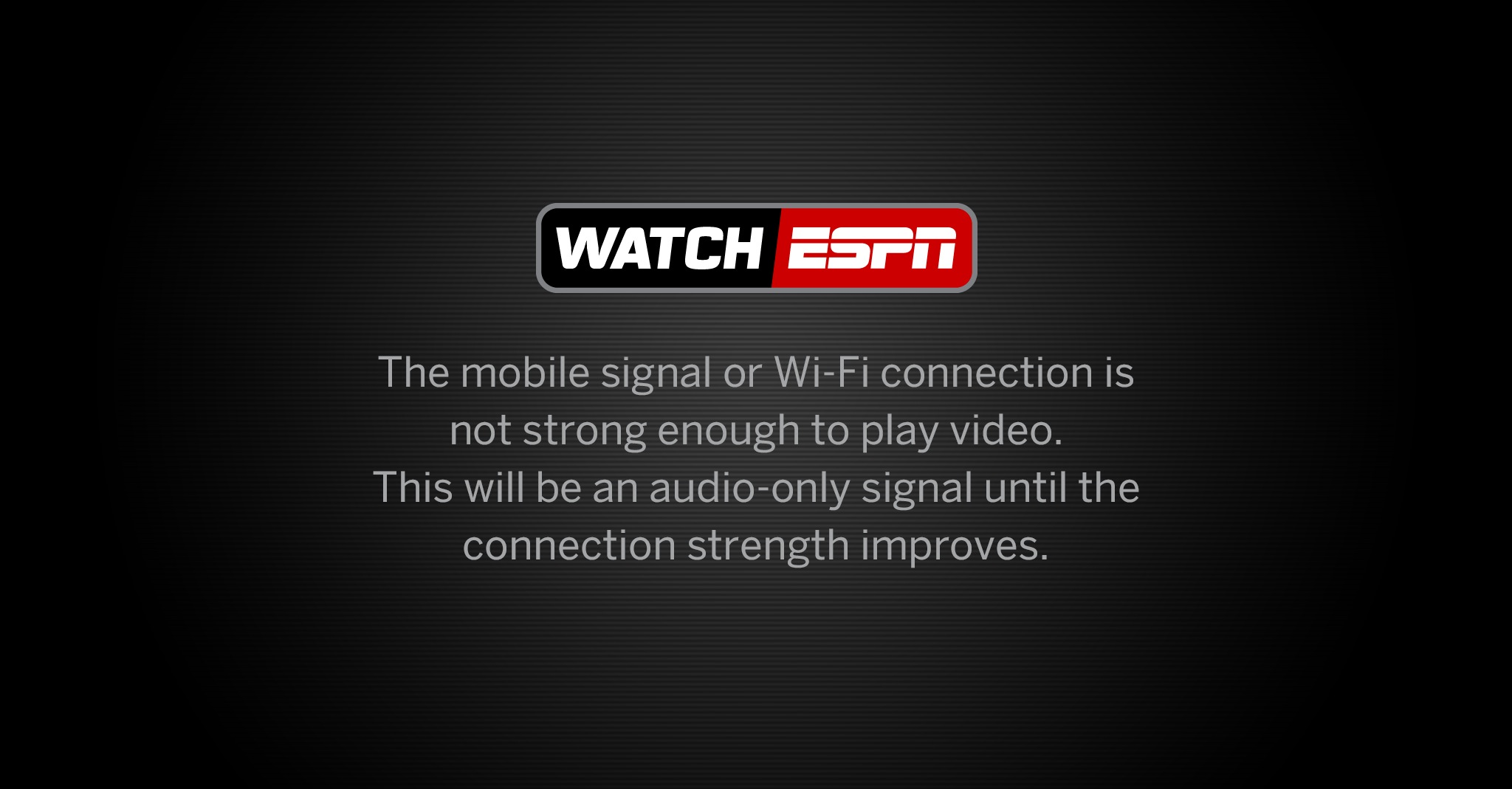 Watchespn Having Streaming Issues For Usa Germany