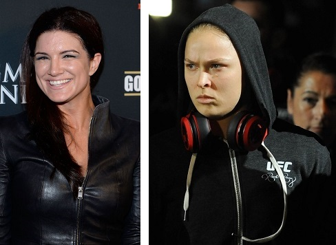 Gina Carano and Ronda Rousey