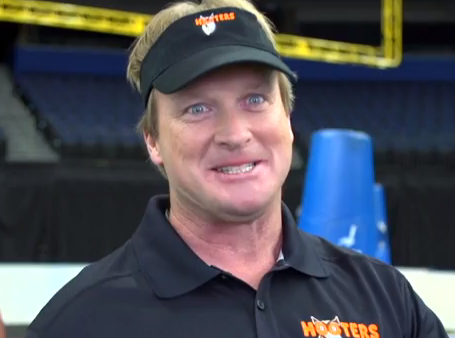 Prepare To Be Amazed By This Jon Gruden Hooters Video
