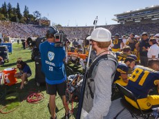 Cal Bears Football vs. UCLA, Oct 18, 2014, at Cal Memorial Stadium in Berkeley