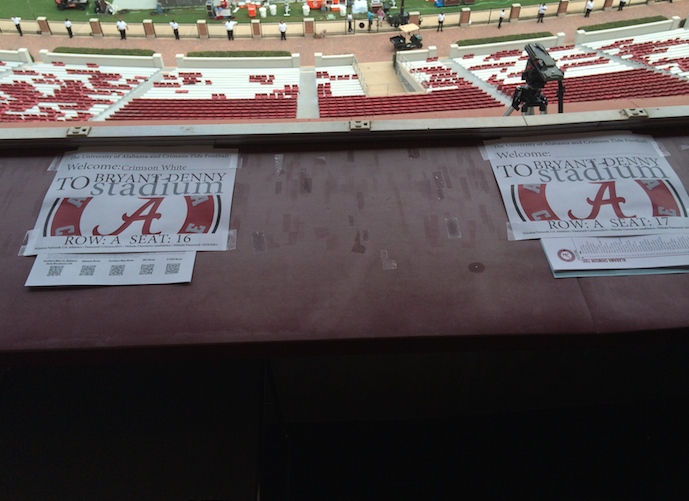 Alabama Is Auctioning Off Press Box Seats For The Western