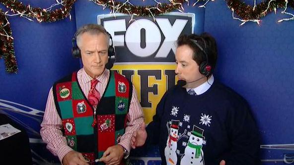 Kenny Albert S Ugly Christmas Sweater Is All Kinds Of