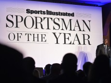 attends the Sportsman Of The Year 2014 Ceremony on December 9, 2014 in New York City.