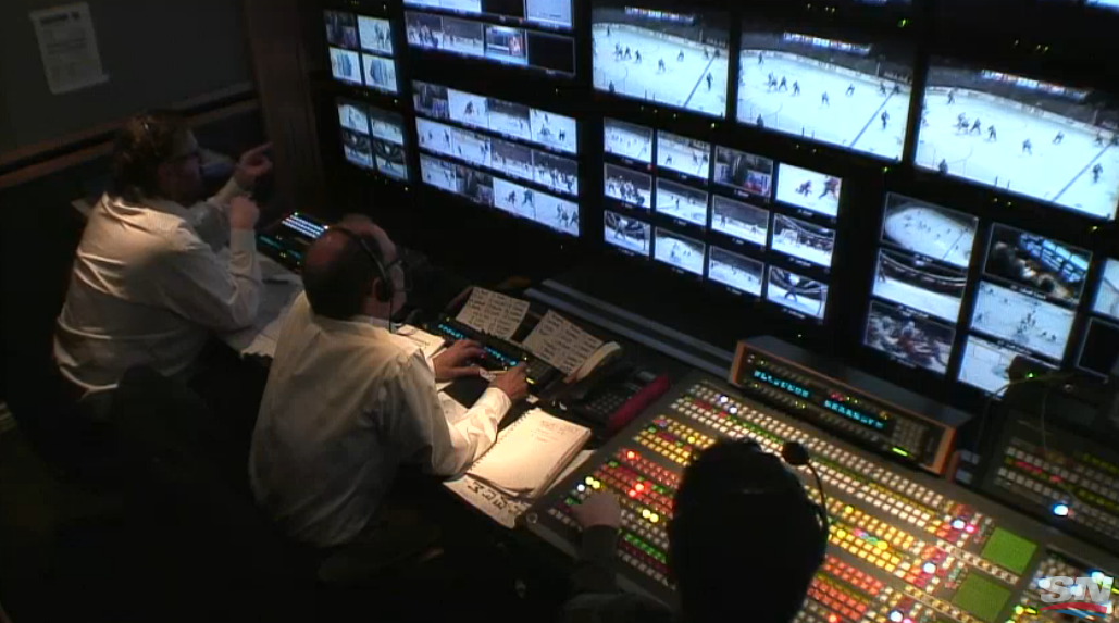 The Hockey Night In Canada Control Room Live Stream Was A