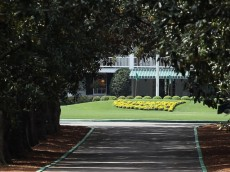 AUGUSTA, GA - APRIL 01:  Magnolia Lane's 60 magnolia trees and the clubhouse are seen at Augusta National Golf Club before The Masters on April 1, 2012 in Augusta, Georgia.  (Photo by Scott Halleran/Getty Images)