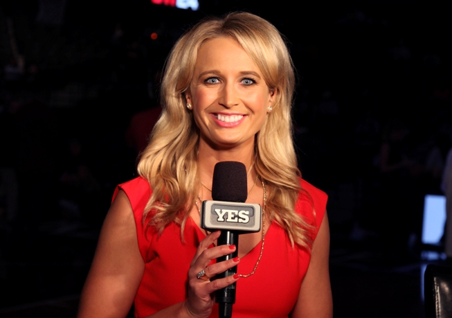 Nets Sideline Reporter Sarah Kustok Moves Into The Analyst
