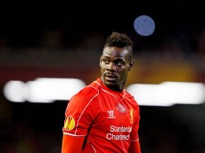 LIVERPOOL, ENGLAND - FEBRUARY 19:  Mario Balotelli of Liverpool looks on during the UEFA Europa League Round of 32 match between Liverpool FC and Besiktas JK at Anfield on February 19, 2015 in Liverpool, United Kingdom.  (Photo by Julian Finney/Getty Images)
