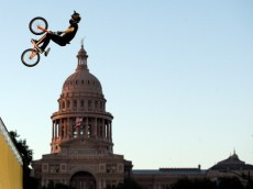 AUSTIN, TX - JUNE 05:  Steve McCann of Australia competes in the BMX Vert Finals at the X Games Austin on June 5, 2014 in Austin, Texas.  (Photo by Ezra Shaw/Getty Images)