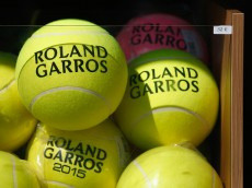 ahead of the 2015 French Open at Roland Garros on May 23, 2015 in Paris, France.