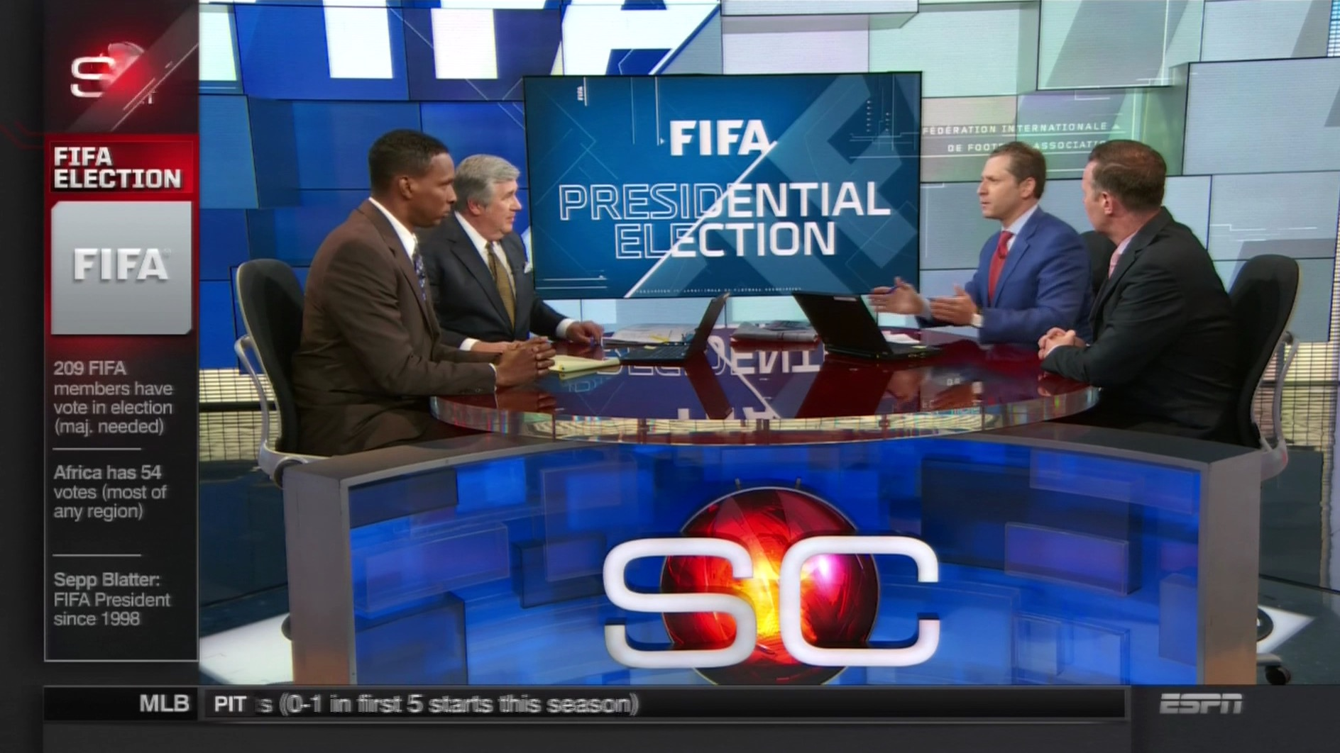 Espn Miles Ahead Of Competition In Fifa Election Coverage