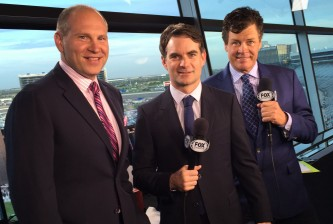 JG in FOX Booth at Texas
