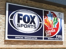 Fox Sports Women's World Cup signage