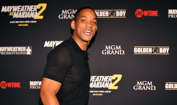 """LAS VEGAS, NV - SEPTEMBER 13:  Actor Will Smith arrives at Showtime's VIP prefight party for """"Mayhem: Mayweather vs. Maidana 2"""" at the MGM Grand Garden Arena on September 13, 2014 in Las Vegas, Nevada.  (Photo by David Becker/Getty Images for SHOWTIME SPORTS)"""