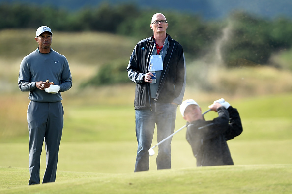 ahead of the 144th Open Championship at The Old Course on July 13, 2015 in St Andrews, Scotland.