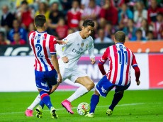 GIJON, SPAIN - AUGUST 23:  Cristiano Ronaldo of Real Madrid controls the ball during the La Liga match between Sporting Gijon and Real Madrid at Estadio El Molinon on August 23, 2015 in Gijon, Spain.  (Photo by Juan Manuel Serrano Arce/Getty Images)