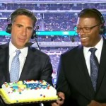 Bob Papa Carl Banks cake