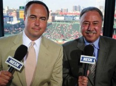 Don Orsillo and Jerry Remy