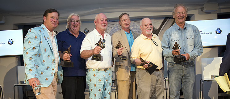Bill Murray And His Five Brothers Got Inducted Into The