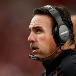 GLENDALE, AZ - SEPTEMBER 27:  Head coach Jim Tomsula of the San Francisco 49ers watches from the sidelines during the third quarter of the NFL game against the Arizona Cardinals at the University of Phoenix Stadium on September 27, 2015 in Glendale, Arizona.  The Carindals defeated the 49ers 47-7.  (Photo by Christian Petersen/Getty Images)