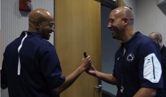Watch Keegan Michael Key Imitates Penn State Coach James