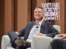 SAN FRANCISCO, CA - OCTOBER 07: HBO's Bill Simmons speaks onstage during 'Ahead of the Curve - The Future of Sports Journalism' at the Vanity Fair New Establishment Summit at Yerba Buena Center for the Arts on October 7, 2015 in San Francisco, California. (Photo by Mike Windle/Getty Images for Vanity Fair)