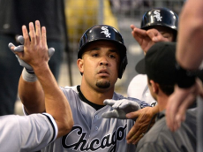 Abreu high fives