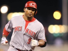 Marlon Byrd is someone who could be had in a trade and would provide some power for a cheaper cost (photo credit: Bleacher Report).