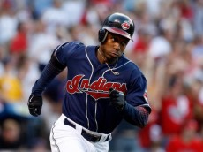 CLEVELAND - OCTOBER 05:  Kenny Lofton #7 of the Cleveland Indians runs to first base against the New York Yankees during Game Two of the American League Divisional Series at Jacobs Field on October 5, 2007 in Cleveland, Ohio.  (Photo by Gregory Shamus/Getty Images)