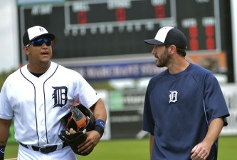 Miguel Cabrera (left) and Justin Verlander look to continue the team's success in 2015.