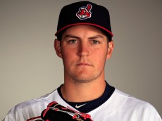 GOODYEAR, AZ - FEBRUARY 26:  Pitcher Trevor Bauer #47 poses during Cleveland Indians Photo Day on February 26, 2015 in Goodyear, Arizona.  (Photo by Jamie Squire/Getty Images)