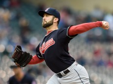 MINNEAPOLIS, MN - APRIL 19: T.J. House #58 of the Cleveland Indians delivers a pitch against the Minnesota Twins during the first inning of the game on April 19, 2015 at Target Field in Minneapolis, Minnesota. (Photo by Hannah Foslien/Getty Images)