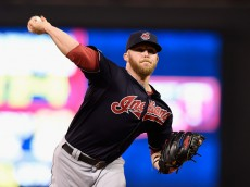 MINNEAPOLIS, MN - SEPTEMBER 24: Cody Allen #37 of the Cleveland Indians delivers a pitch against the Minnesota Twins during the ninth inning of the game on September 24, 2015 at Target Field in Minneapolis, Minnesota. The Indians defeated the Twins 6-3. (Photo by Hannah Foslien/Getty Images)
