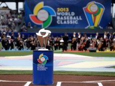 SAN FRANCISCO, CA - MARCH 19:  The WBC Trophy is seen during the Championship Round of the 2013 World Baseball Classic between the Dominican Republic and the Puerto Rico at AT&T Park on March 19, 2013 in San Francisco, California.  (Photo by Ezra Shaw/Getty Images)