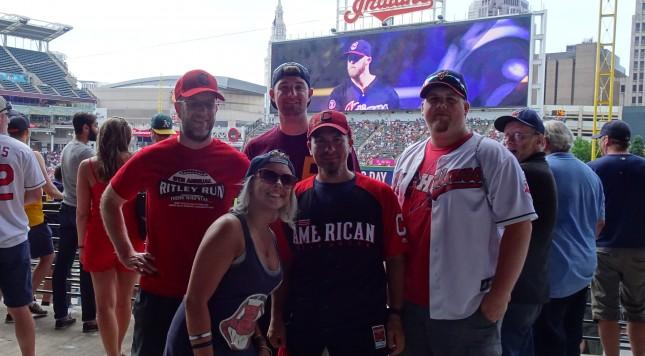 From left to right, John Hutchison, Caitlin Boron, Gavin Potter, Joseph Coblitz & Justin Lada.